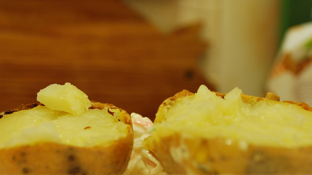 Best Ever Jacket Potatoes (Spicy Spuds)