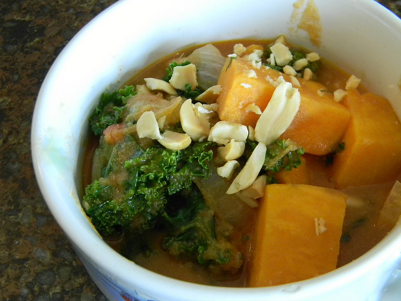 African Peanut Stew – The Flaming Vegan: A Vegan and Vegetarian ...